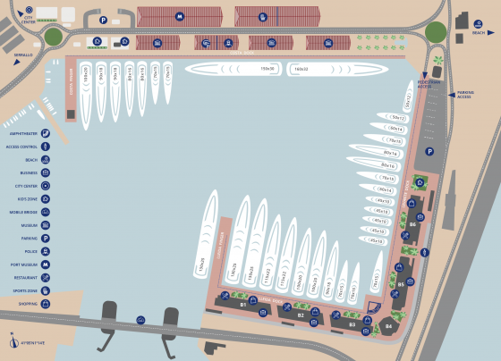 Berth Map